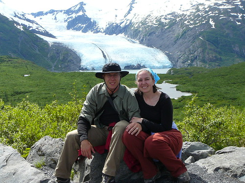 Yay for honeymoons! And glaciers!