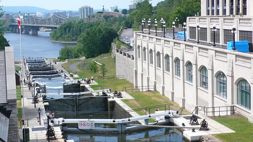 Lock at the Rideau canal