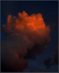 Cloud 11 - the golden one (Kirsten M Lentoft) Tags: sunset sky cloud topc25 thegoldenhour supershot mywinners anawesomeshot momse2600 superbmasterpiece kirstenmlentoft