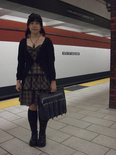 Me at the bart station!