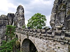 On the Bastei Bridge (Batram) Tags: mountains germany rocks flickr soe hdr bastei schsischeschweiz elbsandsteingebirge saxonswitzerland batram mywinners abigfave anawesomeshot impressedbeauty
