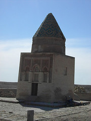 230 Mausole d'Il Arslan  Knye Urgench (voyageurdunet) Tags: urgench turkmenistan mausolee arslan konye