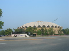 WVU Coliseum (jimmywayne) Tags: college basketball university arena westvirginia coliseum wvu mountaineers