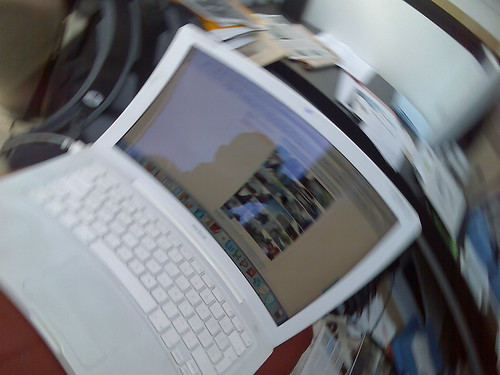 Distorted MacBook