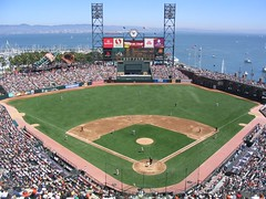 AT&T Park (Kristin&Joe) Tags: sanfrancisco california northerncalifornia baseball bayarea sbcpark giants chinabasin pacbell mlb mccoveycove pacificbellpark majorleaguebaseball baseballstadiums 24williemaysplaza attpark