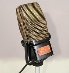 RCA 40A Ribbon Microphone by jschneid, on Flickr