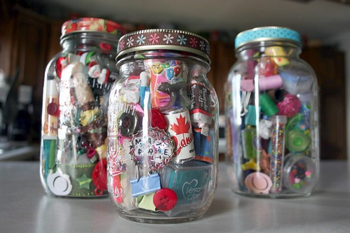 whimsy jars in progress