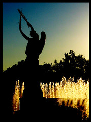 Statue/Fountain (A Great Capture) Tags: city carnival sunset summer toronto ontario canada west water fountain statue fairgrounds ashley ad august fair can canadian exhibition cne national amusementpark summertime tradition aug  grounds sunsetting canadiannationalexhibition theex on endofsummer  yearly ald  canadianphotographer ontari torontophotographer exhibitiongrounds theexhibition ash2276 ash2275 ashleyduffus  canadianphotogpraher ashleysphotography ald ashleysphotographycom ashleysphotoscom ashleylduffus wwwashleysphotoscom