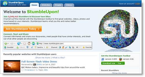 mpind's StumbleUpon profile