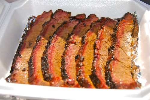 First place brisket turn in box