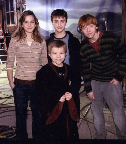 emma watson daniel radcliffe and rupert. Emma Watson with Daniel