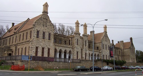 Fremantle Lunatic Asylum cnr Finnerty Street & Ord Street Fremantle