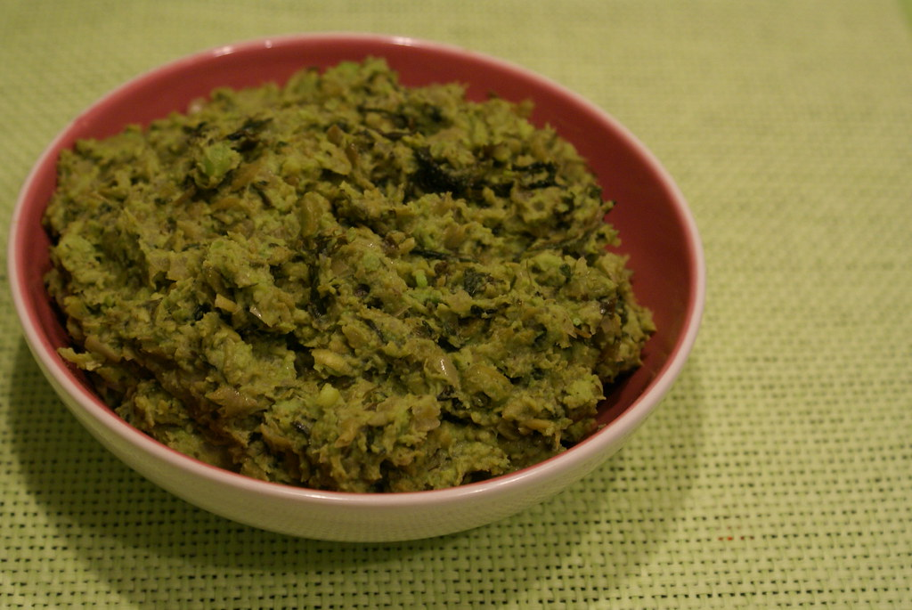 Mint and Pea Stuffing
