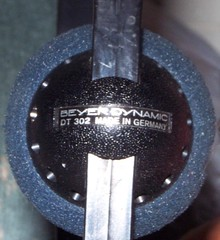 beyer dynamic headphones (sparesomechange) Tags: ebay thrift audio