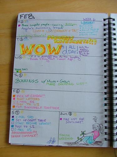 Organizer: Week 6