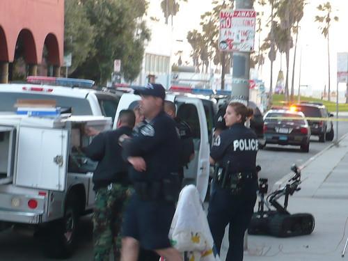 Bomb Scare Venice Beach