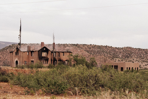 clark mansion and garage 6- 25-10