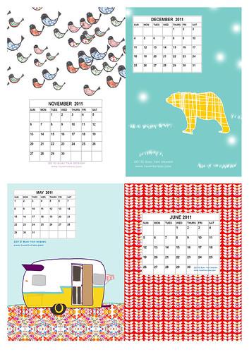2011 Calendar 3