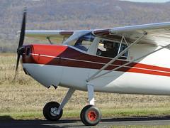 C-FQOE Cessna 120 @ Cubtoberfest 2010 St-Mathias CSP5 aroport airport - CSV9 hydrobase DSC_8136m (djipibi) Tags: airport rendezvous flyin rva 2010 richelieu aroport arien stmathias hydrobase csp5 cubtoberfest csv9