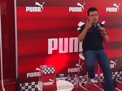 Evento da Puma com Téo José