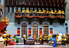 Martin Luther at the Diet of Worms 02 (wunztwice) Tags: halloween germany catholic lego martinluther christianity protestant luther reformation catholosism protestantreformation reformationsunday dietofworms reformationlego