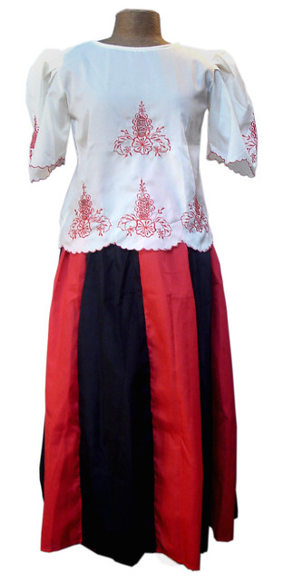 Philippine Costume of Maria Clara http://www.ebay.com/itm/Philippines-FILIPINIANA-COSTUMES-Skirt-MARIA-CLARA-New-/290497752272