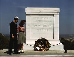 TOMB OF UNKNOWN SOLDIER 1943 (roberthuffstutter) Tags: sailors couples arlingtonnationalcemetery usnavy tombs lessons honors usmilitary decorationday ushistory unknowns adulteducation militaryhonors wreathes tombofunknown learnsomethingnew vicepresidentbiden veteranswwii veteransday2010 vetsdayusa veteransdayceremonies presidentslayingwreaths veteransdayhistory adulthomeschooling education101