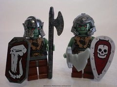 Lord of the Rings Custom Lego Mordor Orcs