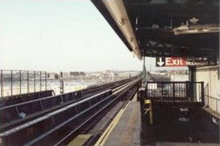 Avenue N Subway Station, Brooklyn, NY, 1996