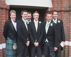 Groom, ushers and best man
