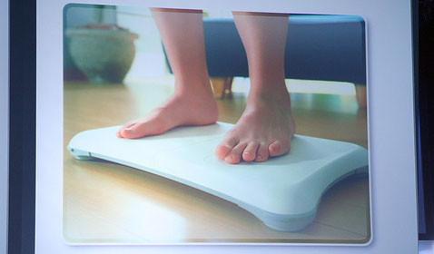 Wii fit balacingf board