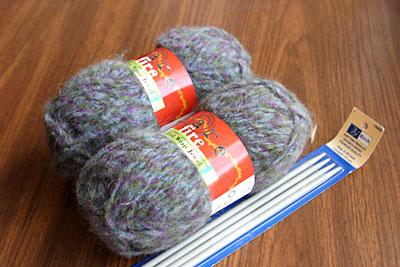 Rare Fire yarn