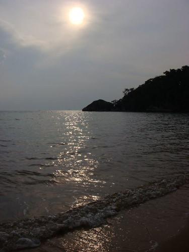 Monkey Beach. Tioman Island. Malaysia.