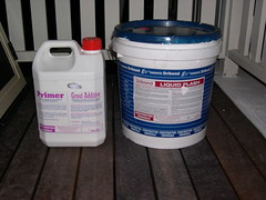 Waterproofing Products Used on our Front Varanda