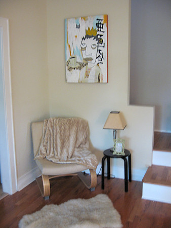 Stair Corner with Art