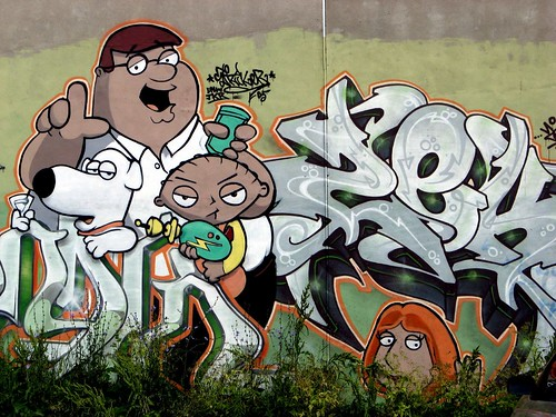 Family Guy Graffiti