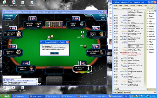 First Rule of Tournament Poker