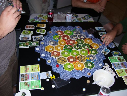 Cities and Knights of Catan  end