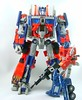 Transformers Optimus Prime - modo robot (Movie leader) con Optimus Classic