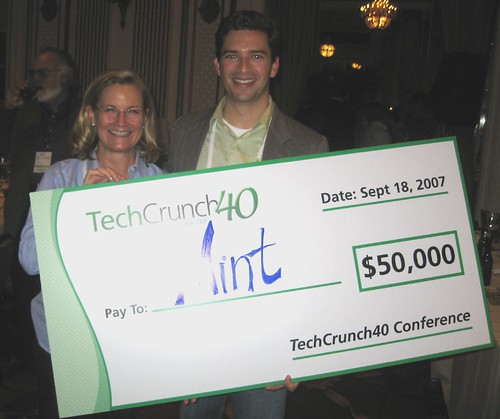 TechCrunch40 Winner: It's Mint! by davemc500hats.