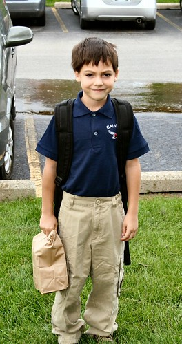 1st day of 2nd grade