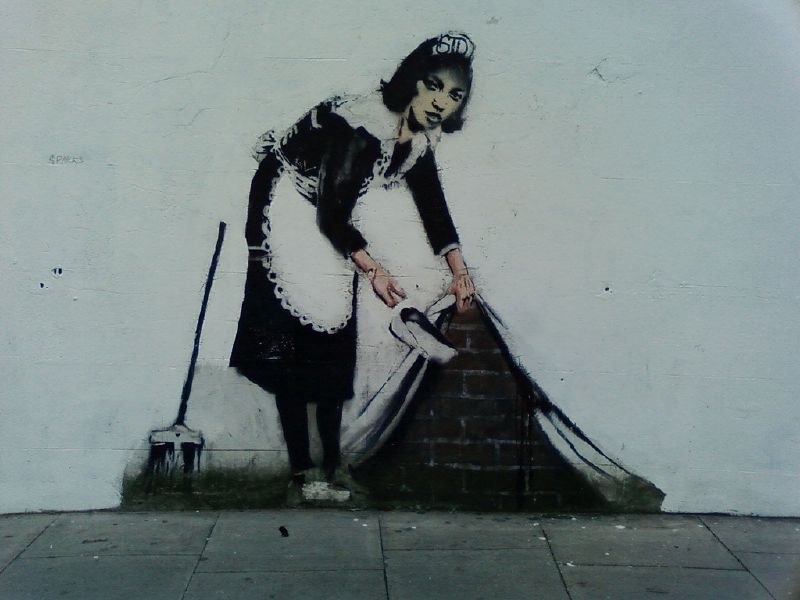 banksy wallpapers. area that Banksy has used
