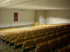 The lecture hall