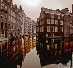 Lost in Amsterdam (Olympe B.) Tags: houses holland amsterdam reflections boat europe maisons bateaux desaturation reflets hollande canaux platinumheartaward sonya550 mygearandmepremium mygearandmebronze mygearandmesilver mygearandmegold mygearandmeplatinum