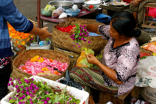 the flower seller