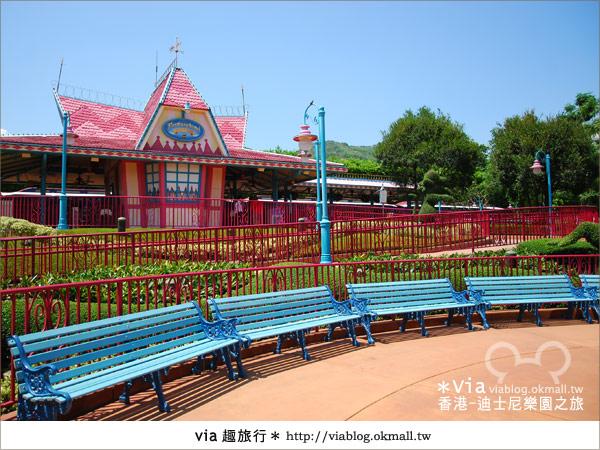 【香港自由行】跟著via玩香港(1)~爆走香港迪士尼樂園37