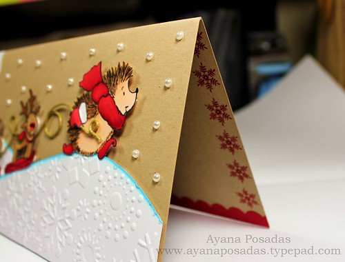 Penny Black Reindeer Card (8)