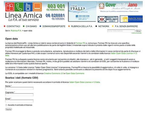 Italian Open Data Licence v 1.0