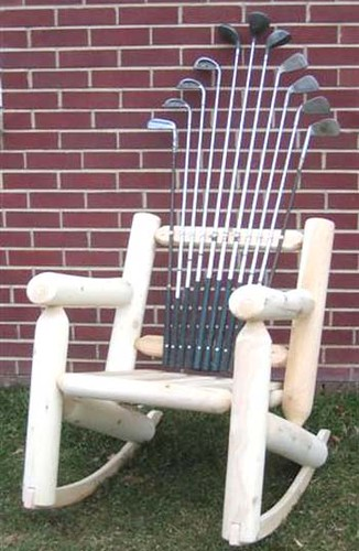 Golf Log Rocker