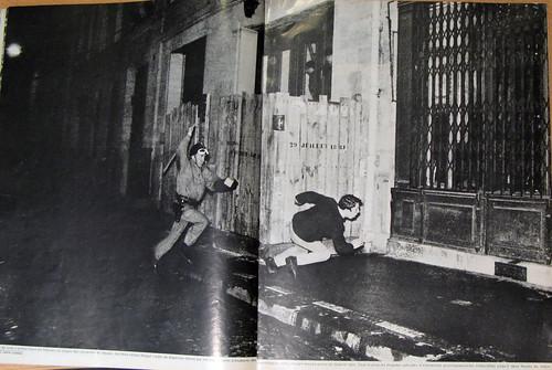 Un étudiant pourchassé- mai 1968